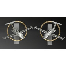 Eclipse Jet Cuff Links
